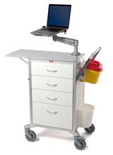 6010-4 med flexibel laptoparm