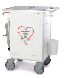 Akutvagn 3030 - med hjärtbräda